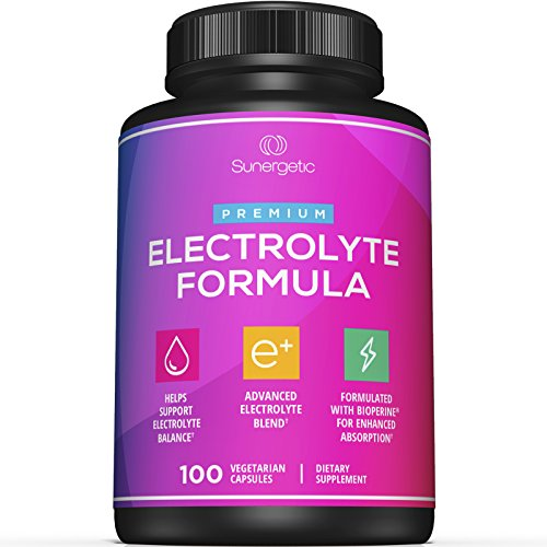 Premium Electrolyte Capsules – Perfect for Keto, Low Carb, Rehydration & Recovery - Electrolyte Replacement Capsules – Includes Electrolyte Salts, Magnesium, Sodium, Potassium – 100 Capsules - Edge Salt
