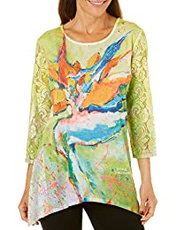 Womens Birds of Paradise Top