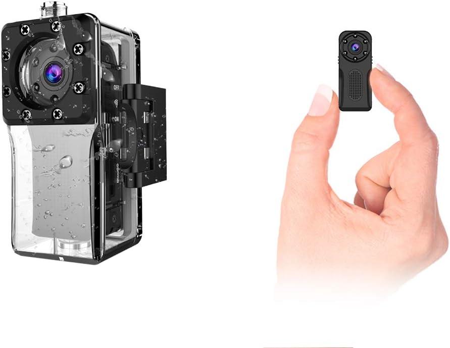 Mini Camera Cach/ée WiFi Petite Full HD 1080P de Surveillance de S/écurit/é B/éb/é Cam/éra sans Fil avec Vision Nocturne et D/étection de Mouvement Micro Cam/éra Int/érieure//Ext/érieure