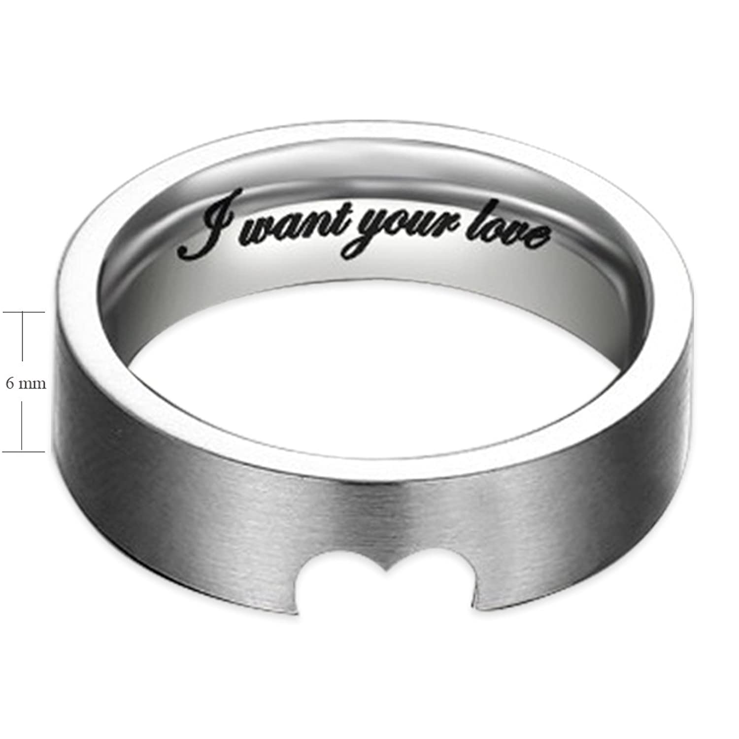 wholesale wedding dazzling jewelry ring products main sand blast black finish rings stainless steel band