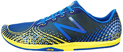 888098162721 - New Balance Men's MR00 Minimus Road Running Shoe,Blue/Yellow,11.5 D US carousel main 4