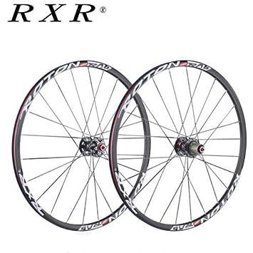 "FidgetGear RXR - Ruedas para Bicicleta (26/27.5/29"", Fibra de"