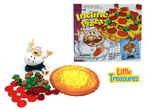 Little Treasures Balancing Pile Up Game Add Toppings on The Pizza But Don/'t...