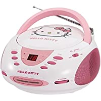 HELLO KITTY KT2024A Stereo AM/FM/CD Boom Box