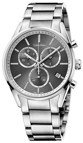 Calvin Klein K4M27143 Mens Formality Silver Chrono Watch by Calvin Klein