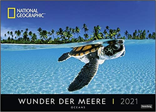 Wunder der Meere Edition National Geographic Kalender 2021