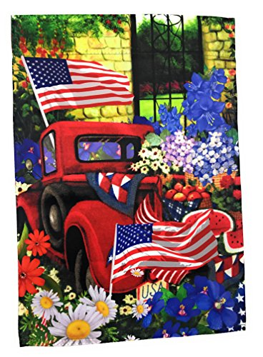 "Lantern Hill Premium Garden Flag Yard Decoration; 12"" x 18"";"