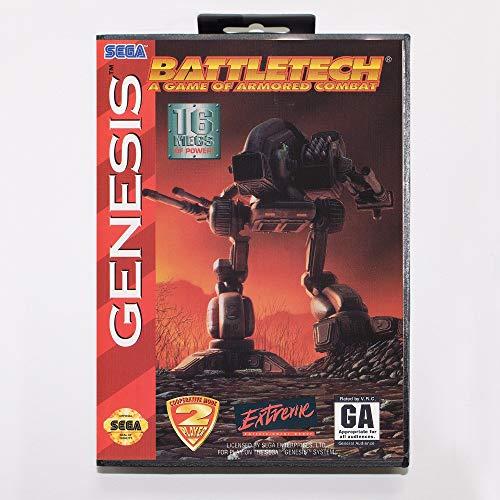 4bc218b639a The Crowd Tradensen Battletech Game Cartridge 16 Bit Md Game Card with Retail  Box for Sega