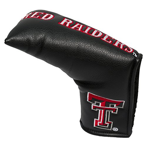 Team Golf NCAA Texas Tech Red Raiders Golf Club Vintage Blade Putter Headcover, Form Fitting Design, Fits Scotty Cameron, Taylormade, Odyssey, Titleist, Ping, Callaway