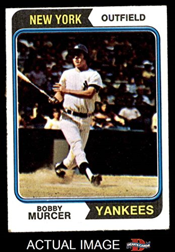 1974 Topps # 90 Bobby Murcer New York Yankees (Baseball Card) Dean's Cards 5 - EX Yankees