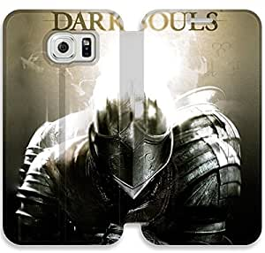 Premium Flip Ultra Slim Dark Souls-18 iPhone Samsung Galaxy S6 Edge Leather Flip Case