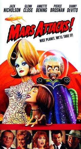 Mars Attacks Movie Poster ()