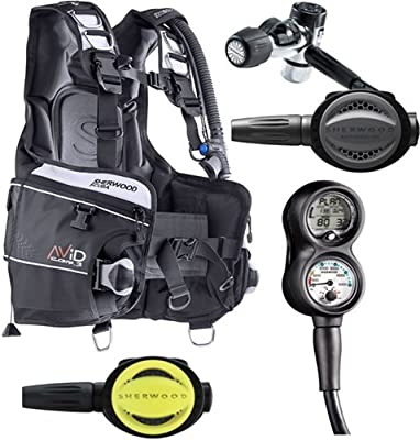 Sherwood Avid BCD Open Water Dive Package (Large)