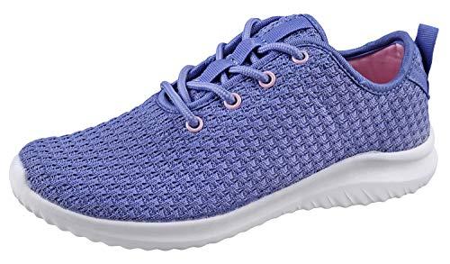 YILAN Womens Fashion Breathable Sport Shoes ALT-3624L-VIOViolet 8.5