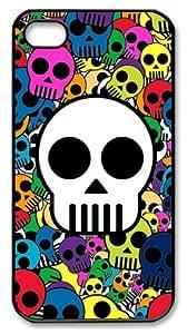 XiFu*MeiLZHCASE Personalized Protective Case for iphone 4/4s - Calaveras De ColoresXiFu*Mei