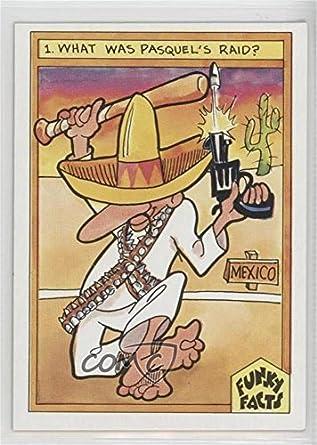 Amazoncom Raids And Wars Baseball Card 1976 Funky Facts Weird