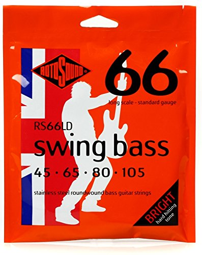 Rotosound RS66LD Long Scale Swing 66 Bass Strings (Long Scale)