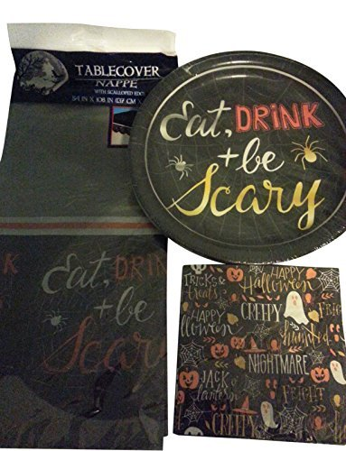 Halloween Theme Party Supply Set