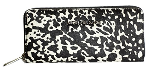 MICHAEL Michael Kors Jet Set Travel Continental Hair Calf Wallet by Michael Kors