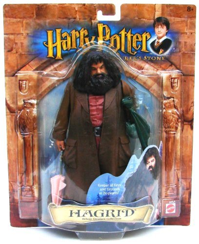 Harry Potter and the Sorcerer's Stone, Hagrid, Deluxe Creature Collection Figure (The Keeper Of The Keys Harry Potter)