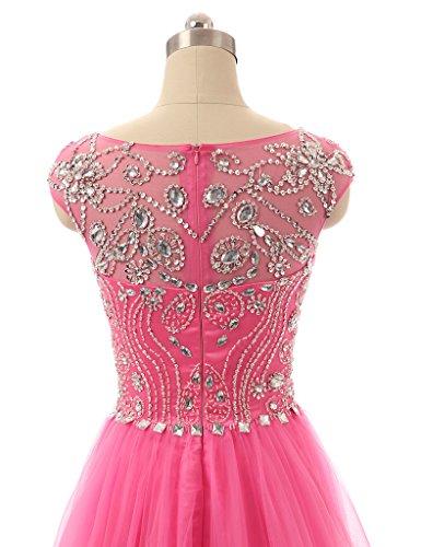 JAEDEN Cristal Vestido de noche Trajes de gala Largo Vestido de boda champ¨¢n