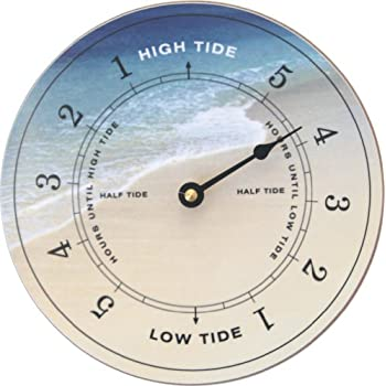 Amazon Com Tidetime Nautical Tide Clock Beach Face