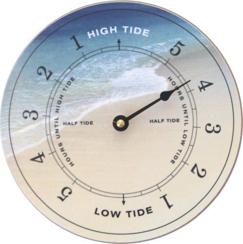 Tidetime Nautical Tide Clock - Beach - Is A Low Tide What