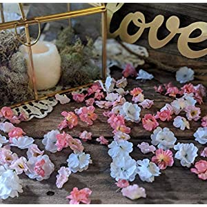 Baby Shower Decorations, Flower Table Decor, Wedding or Bridal Shower Decorations, Flower Confetti 12