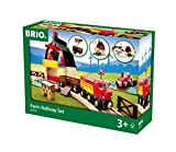 Best Wooden Train Sets - Brio Farm Railway Set Review