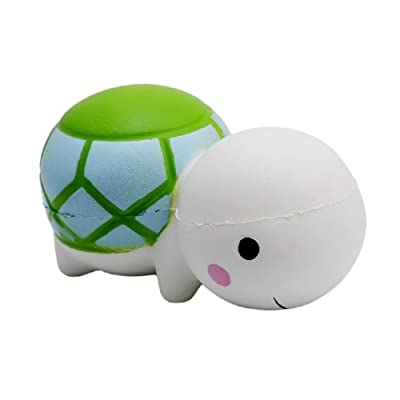 Finance Plan Soft Cartoon Turtle Slow Rising Stress Reliever Stress Toy Squeeze Stress Relief Toys Squeeze Soft Toys for Kids Children Adults: Toys & Games