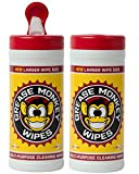Grease Monkey Canister Heavy-Duty Cleaning Wipes Canister, Various Size