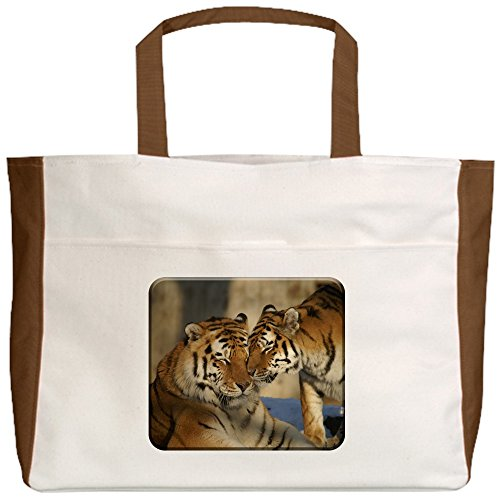 truly-teague-beach-tote-2-sided-nuzzling-tiger-love-mocha