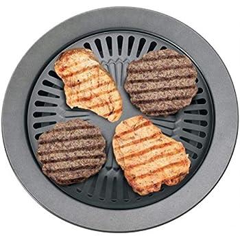 Amazon.com: Chefmaster KTGR5 13-Inch Smokeless Stovetop Barbecue ...