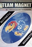 Fremont Die NCAA Kansas 8'' Vinyl Magnet, One Size, Multicolor