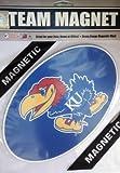 Fremont Die NCAA Kansas 8'' Vinyl Magnet, One Size, Multicolor