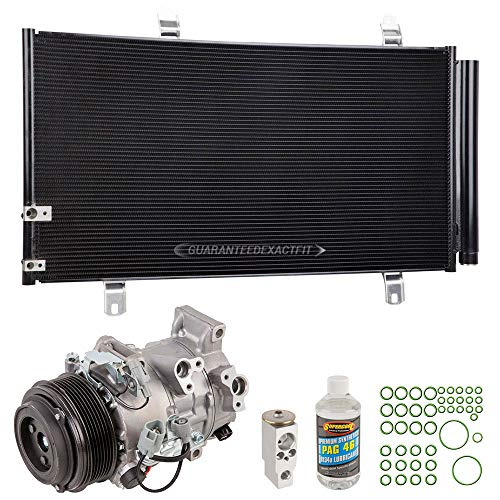 - A/C Kit w/AC Compressor Condenser & Drier For Toyota Camry V6 & Avalon Replaces Denso w/Triangle Plug - BuyAutoParts 60-80707R6 New