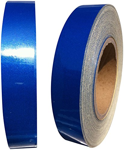 Direct Products Motorbike Self Adhesive Blue Reflective Tape 1' X 5yrd