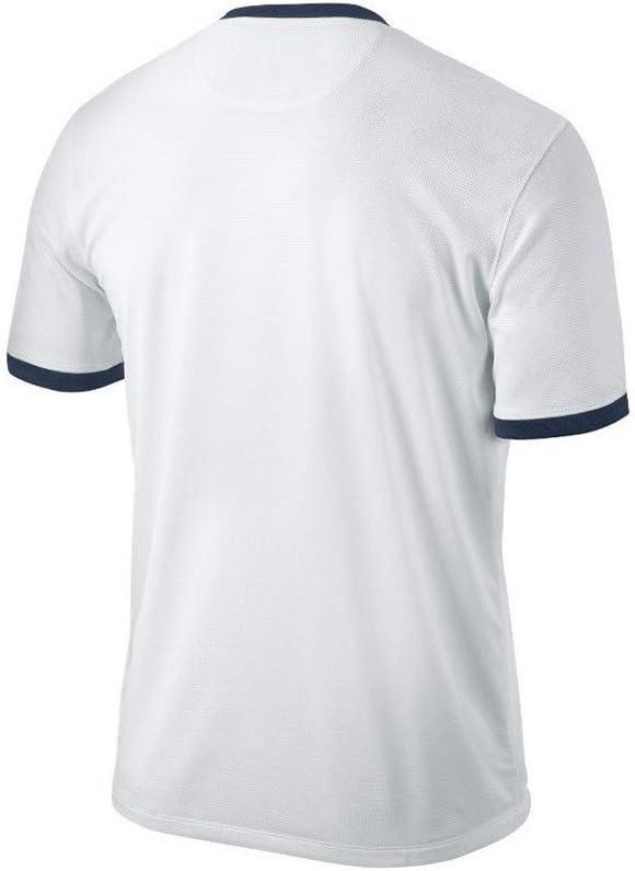 Nike - Camiseta del equipo de fútbol PSG BLANC/MARINE/ROUGE Talla ...