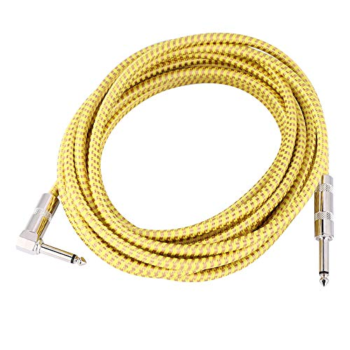 RiToEasysports - Cable de audio para guitarra eléctrica (26 m, 6 ...
