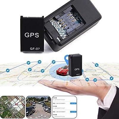 Haodene Mini GPS Tracker, GF07 localizador vehículo en Tiempo Real – Localizador gsm/GPRS localizador antirrobo para Coche Moto Bicicleta, niños, Personas Mayores, Animales domésticos, etc: Amazon.es: Hogar