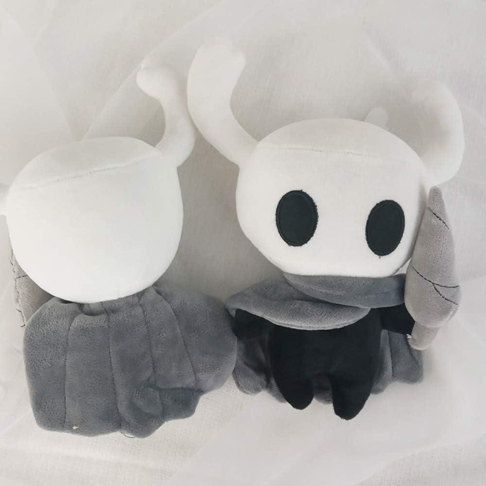 Simpatico Cuscino per Bambola di Peluche farcito Il Cavaliere per Regalo di Compleanno per Bambini Happyeating Gioco Hollow Knight Peluche