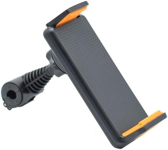 siwetg Soporte giratorio 360˚ para reposacabezas en el asiento trasero del coche para GPS Tablet de 4 a 10 pulgadas.