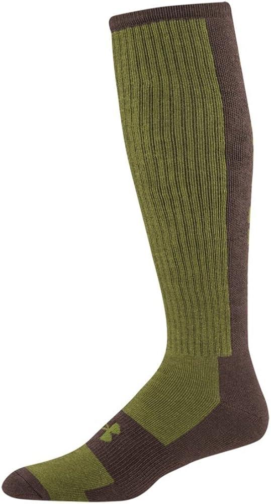 2 Colors Under Armour Men/'s Scent Control II Crew Socks