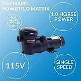 Hayward PowerFlo Matrix HP Above-Ground Swimming