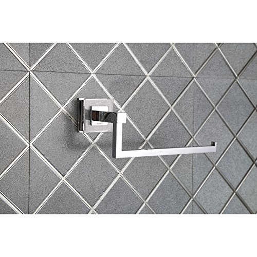 Ruvati RVA5005 Valencia Towel Ring Luxury Bathroom Accessory, Crystal and Chrome by Ruvati (Image #1)