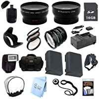 Advanced Professional SLR Kit: for Canon EOS Rebel XTI, 350D, 400D SLRs