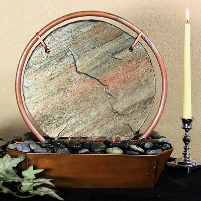 Wind & Water Worx TMRS Moonrise Copper Fountain - Stone Copper Fountain