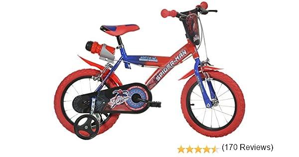 Dino Bikes 16-Inch Spider Man Childrens Bike: Amazon.es: Deportes ...