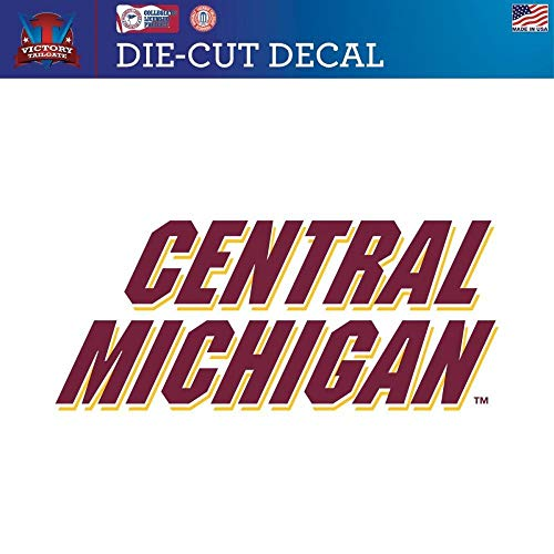 (Victory Tailgate Central Michigan University Chippewas Die-Cut Vinyl Decal (24 Inch))