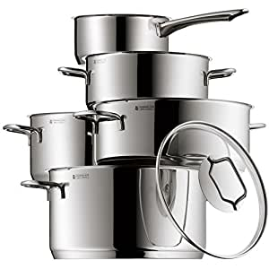 Wmf astoria bater a de cocina 5 piezas hogar for Amazon bateria cocina